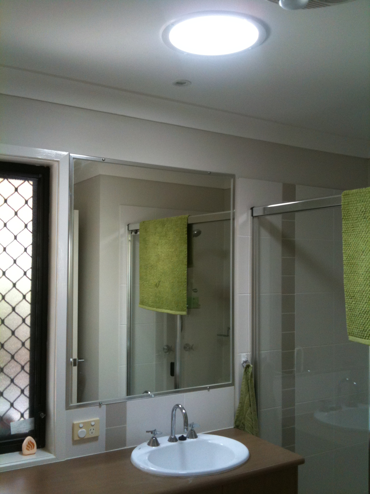 Skylights Brisbane Prices Starting From Just 394 – Skylight in Bathroom