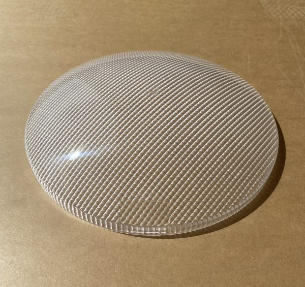 domed prismatic diffuser