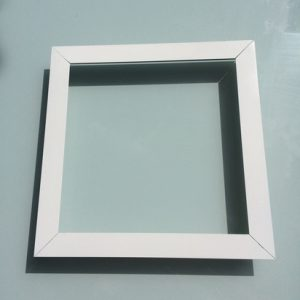 square skylight ceiling surround
